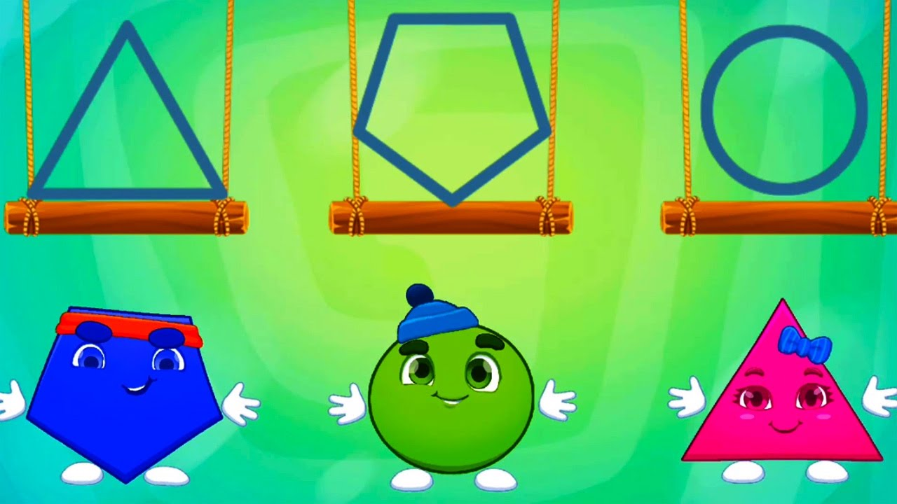 Shapes Learning Learn Colors for Baby and Preschooler Learning ...