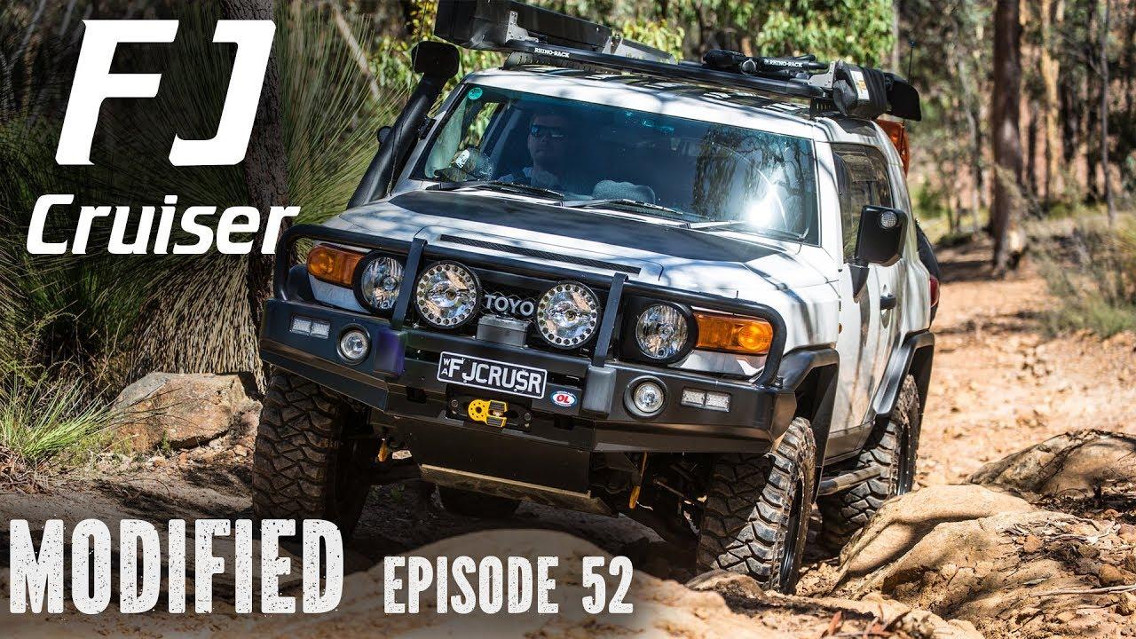 Fj Cruiser Off Road >> Toyota Fj Cruiser Modified Episode 52
