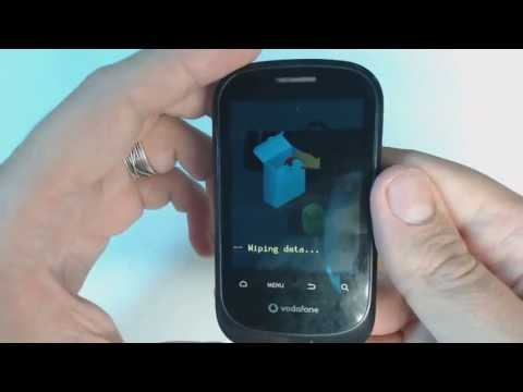 Huawei U8160 Vodafone 858 Smart hard reset