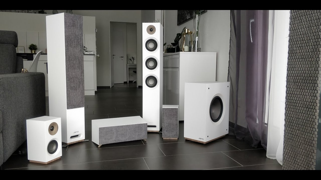 Unboxing Jamo Studio8 series S 809 HCS White