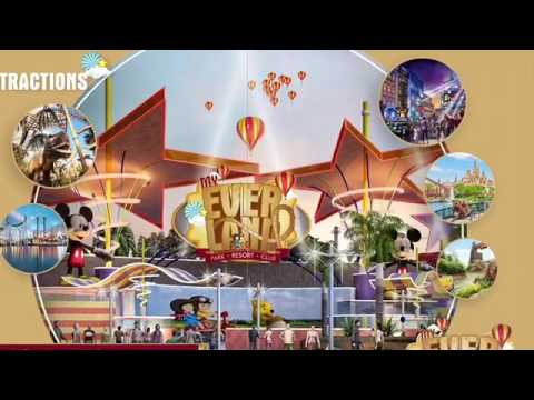 My Ever Land, Theme Park Club Resort, Gujarat India, At Lunasan, Ahmedabad Mehsana Highway, everland