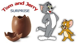 Tom and jerry Surprise eggs unboxing surprise egg collection