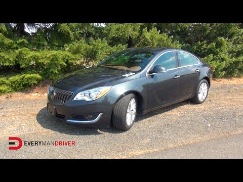 2014 Buick Regal Turbo Detailed Review on Everyman Driver - Everyman Driver  - xcE9e4Y1FdE -