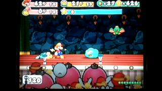 Paper Mario TTYD Pre-Hooktail Pit Run (No Superguard) Floors 90-99