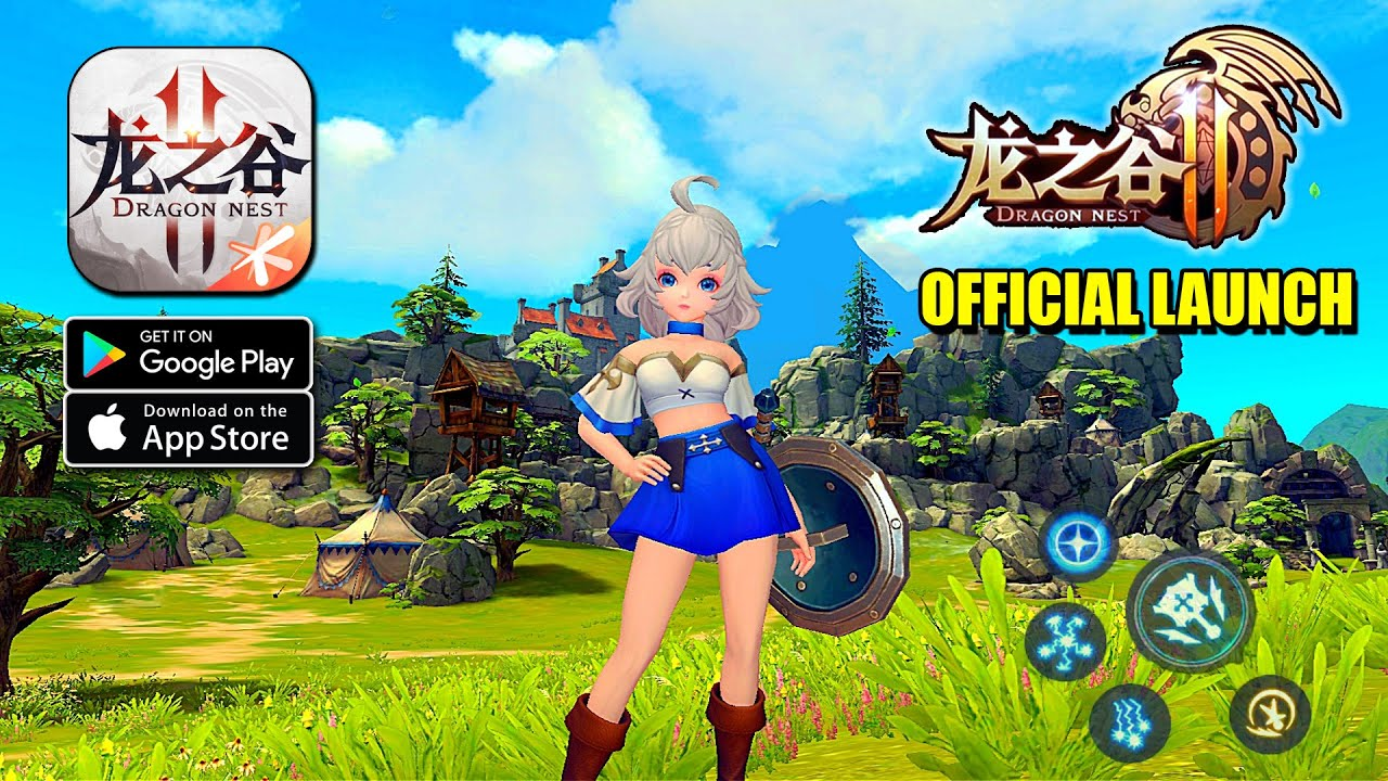 Dragon Nest 2 Tencent Official Launch Mmorpg Gameplay Android Ios Youtube