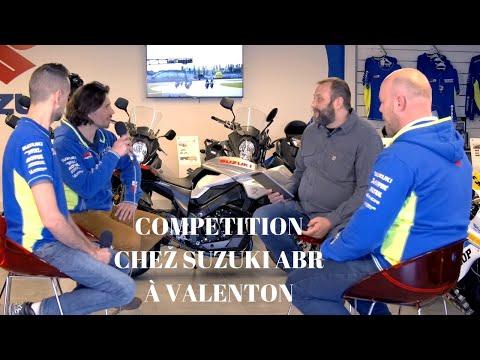 Emission 64 : Cométition chez Suzuki ABR à Valenton.
