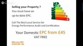 Cheaper Energy Performance Certificate EPC | Call 01628 904166 | S Bucks & E Berks