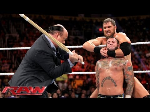 CM Punk vs. Curtis Axel - WWE App Vote Match: Raw, August 26, 2013