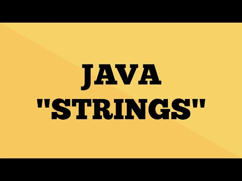 Java String - Explained | String Tutorial in Java | Java9s.com