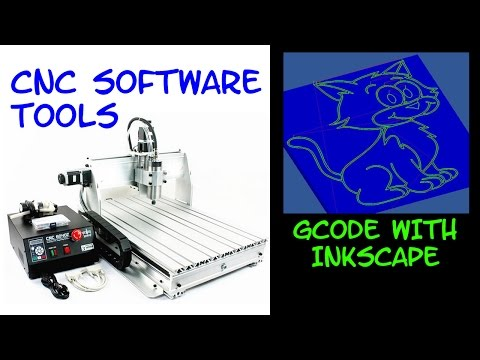 CNC SOFTWARE: Gcode path with INKSCAPE