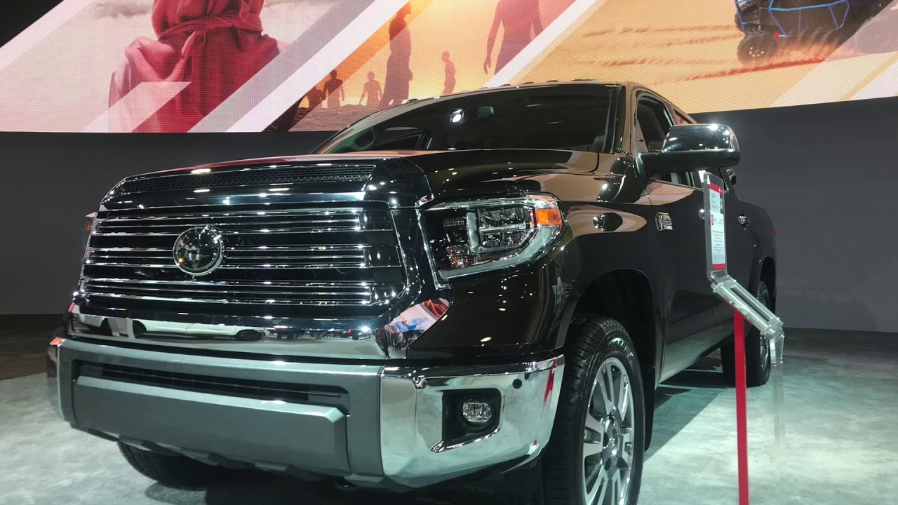 2019 Toyota Tundra 1794 Edition Youtube