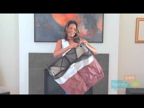 Honey-Can-Do HMP-01403 Dual-Compartment Laundry Hamper Instruction Video