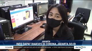 Cek Persebaran Kasus Covid-19 di DKI Jakarta Melalui Corona.jakarta.go.id