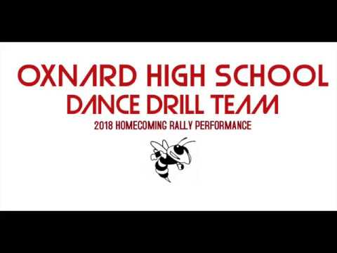 Oxnard High School Dance Drill Team 2018 Homecoming Rally Performance