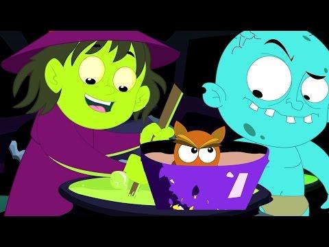 sorcières-soupe-|-comptine-|-collection-de-enfants-chansons-|-halloween-chanson-|-witches-soup-song