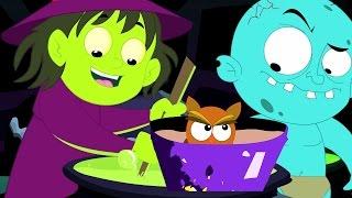 Sorcières soupe   Comptine   collection de enfants chansons   halloween chanson   Witches Soup Song