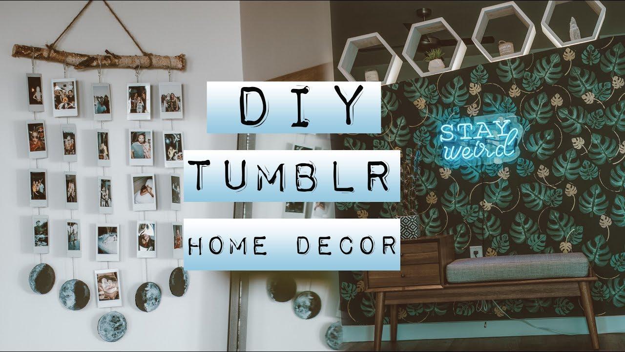 Diy Tumblr Home Decor Youtube