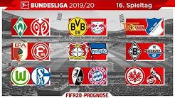 FIFA 20: Spieltag 16 (Englische Woche) Saison 2019/20 Bundesliga Prognose l Deutsch [FULL HD]