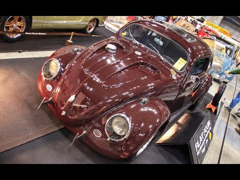 1952 VW TYPE 1 CHOP-TOP CAL-LOOK by FLAT4