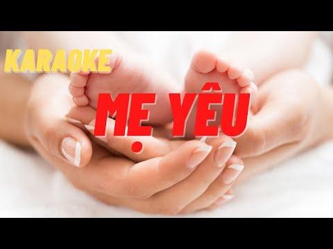 Mẹ Yêu Karaoke | Tone Nữ | Beat phối chuẩn
