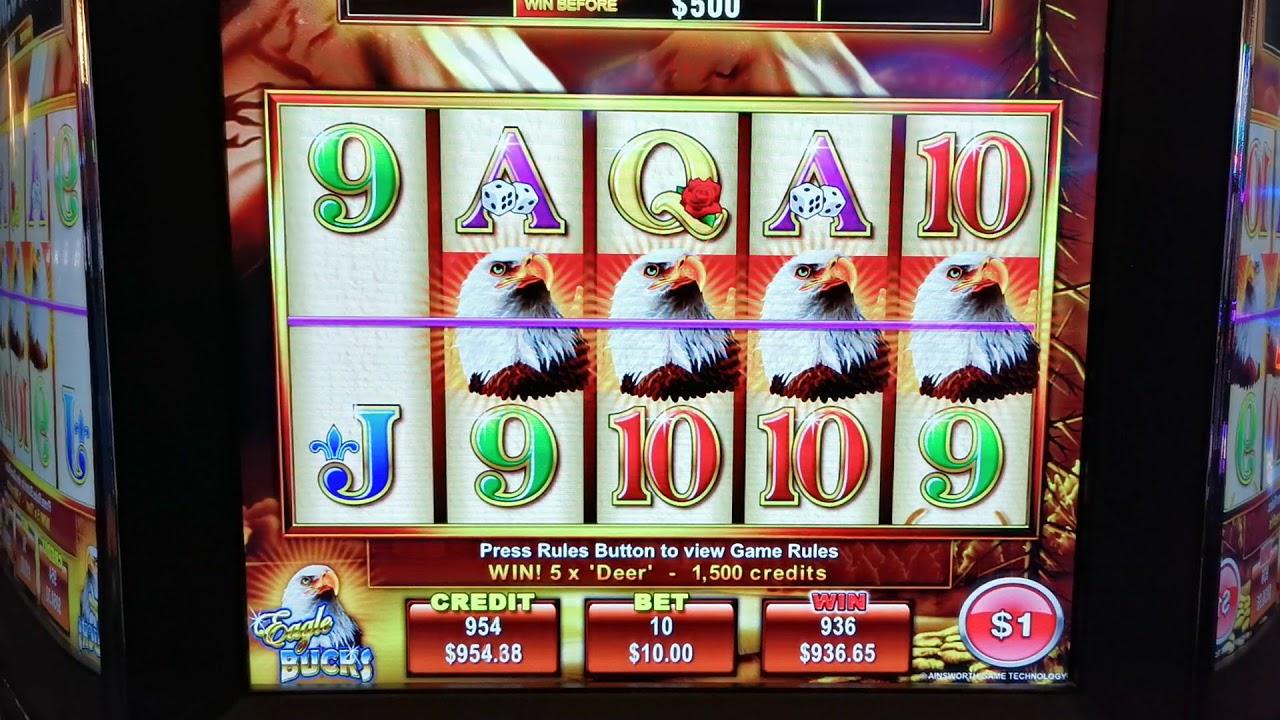 Eagle bucks slot machine online ainsworth treasure strategy