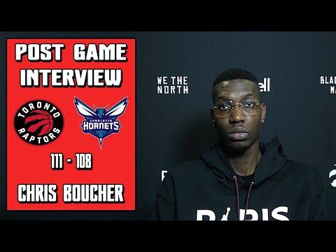 Chris Boucher Postgame Interview | Raptors vs Hornets | 2020-21 NBA Season