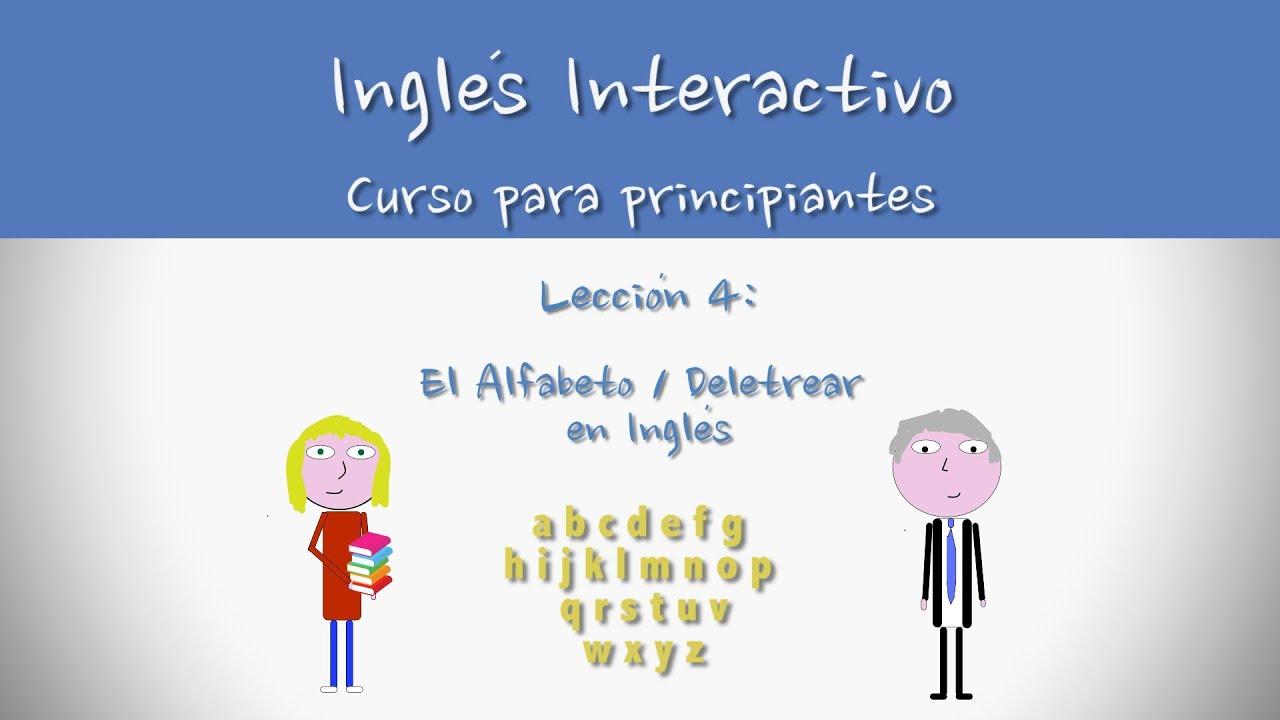 Watch on Abecedario Ingles