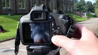 Using the the Canon EOS 1200d/Rebel T5 to film - Media Technician Steve Pidd