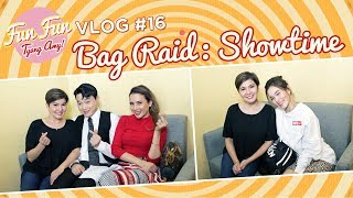 [Fun Fun Tyang Amy] Vlog 16 : Back-to-Back Bag Raid | It's Showtime