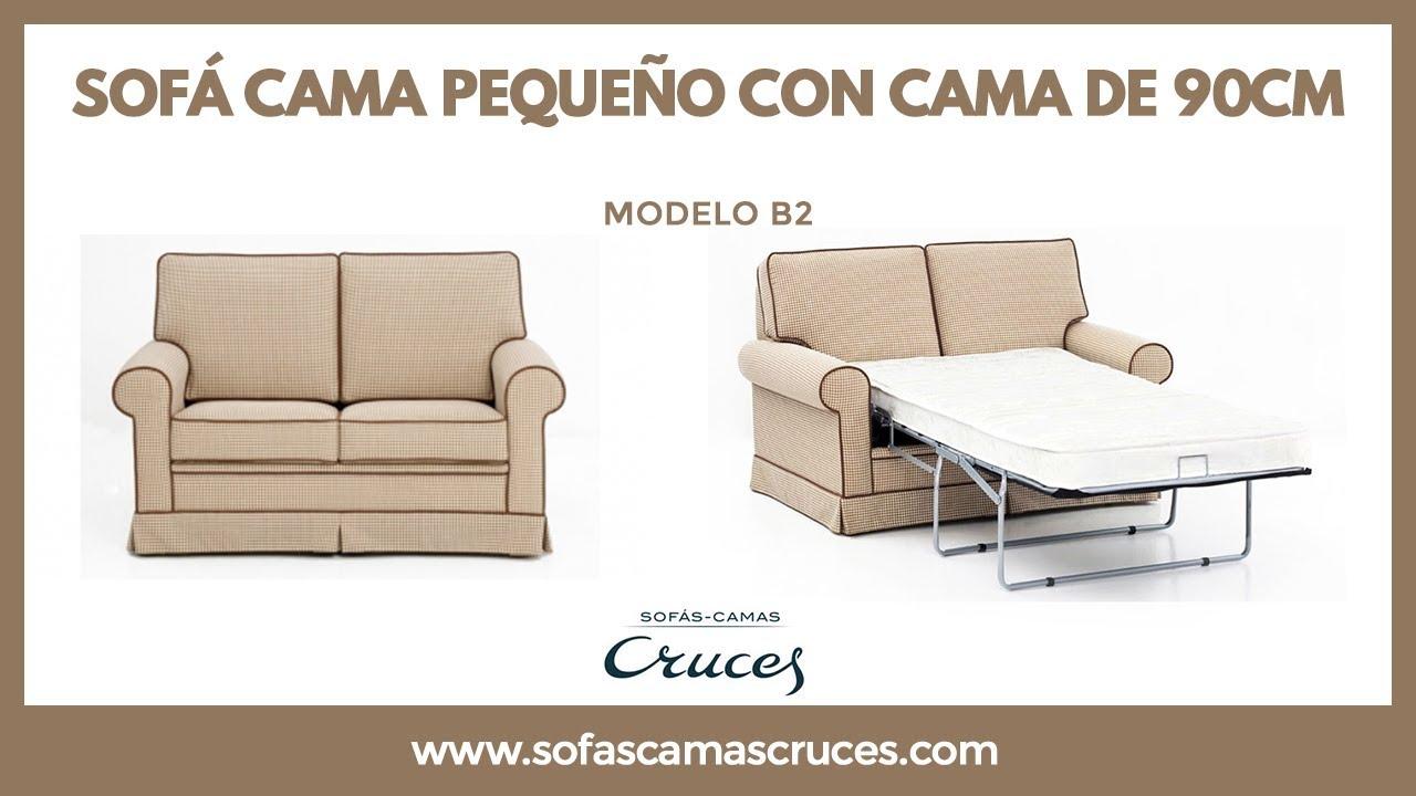 Sof cama de pocas dimensiones para espacios reducidos for Sofas para espacios reducidos