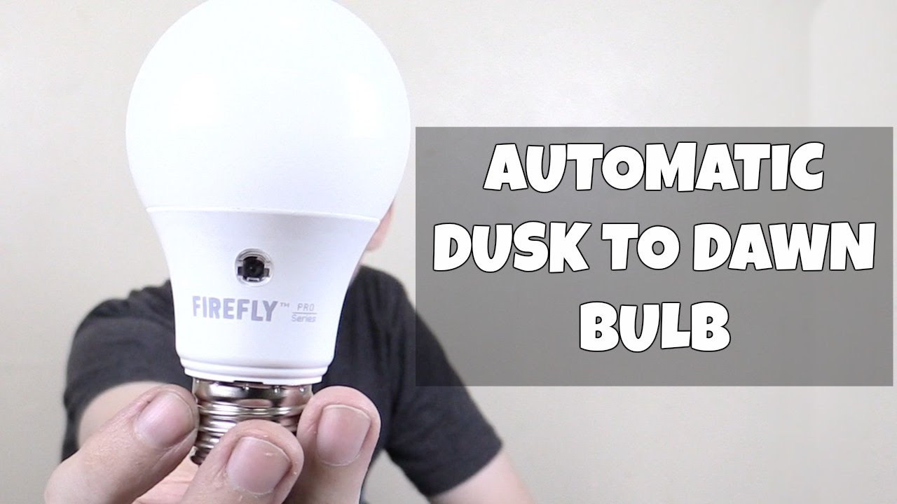 Dusk to dawn led bulb from firefly youtube dusk to dawn led bulb from firefly aloadofball Images
