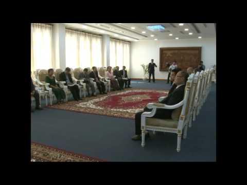 CHFA - Meeting of H.E WU CUNRONG and H.E MORB SARIN Chief Council of Phnom Penh City