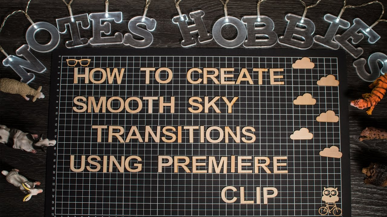 how to create transition in premiere