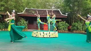 ភូមិវប្បធម៌ សៀមរាប អង្គរ វត្ត,khmer dance culture Village in SiemReap,