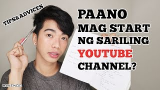 HOW TO START SA YOUTUBE CHANNEL 0-1000 subs (Step by Step) Paano magsimula sa Youtube? | Raven DG