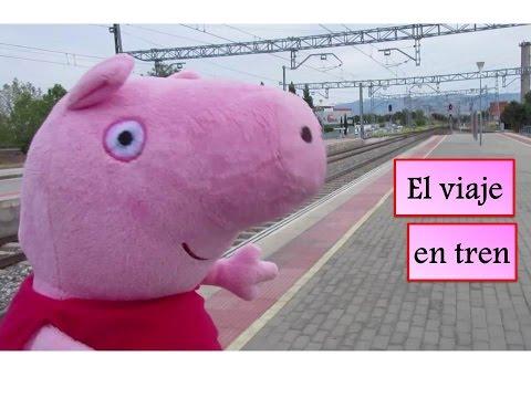 Peppa Pig El Viaje en Tren 🚅 | Vídeos de Peppa Pig en español