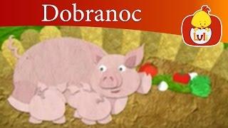Dobranoc - Zwierzęta gospodarskie: świnie, dla dzieci Luli TV - Videos for babies