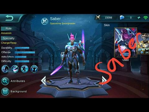 SABER'S DOUBLE KILL | Mobile Legends #3