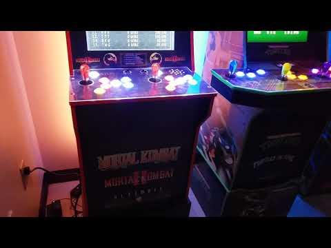 Arcade1up Mod Reveal: Mortal Kombat & Teenage Mutant Ninja Turtles V1 from Billy Vaux