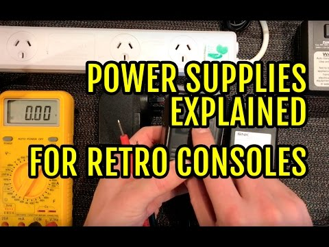 Power Supplies Explained for Retro Consoles  - YouTube