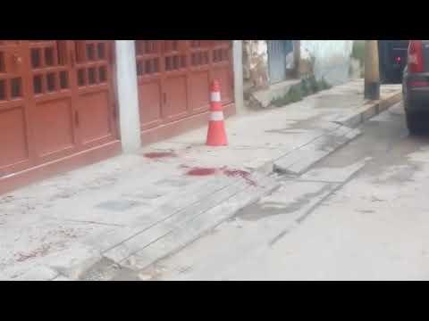 SALVAJE ASESINATO EN HUARAZ