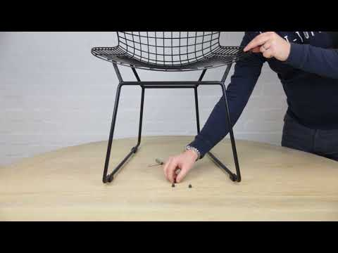 How to Assemble your Bertoia Inspired Replica Dining Chair from La Maison Chic