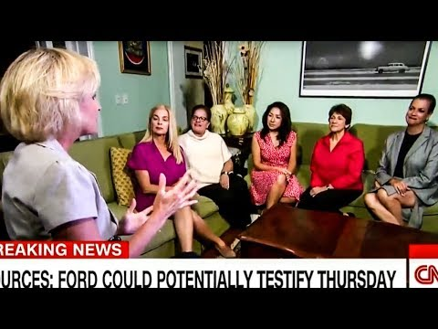 BUSTED: CNN's Republican Women For Kavanaugh Are Actually GOP Operatives