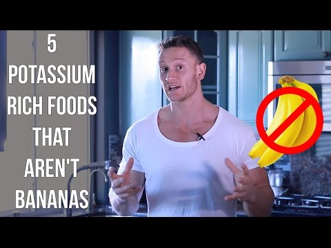 5 Foods High In Potassium That Aren't Bananas- Thomas DeLauer