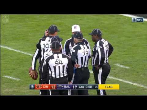 BALTIMORE RAVENS- REFUSE to PUNT and END the GAME with SAFETY (Nov 26)