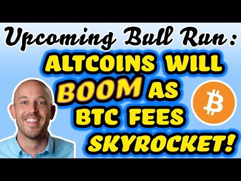 🔵 Upcoming Bull Run: Altcoins Will Boom As BTC Fees Skyrocket! - 1 MB Blocks - Halving In 30 Days!