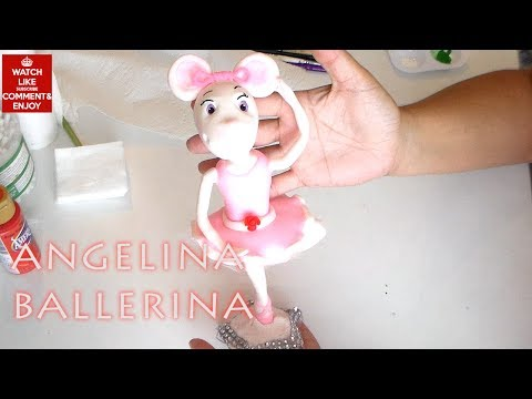 How to make ANGELINA BALLERINA by Cup n Cakes Gourmet