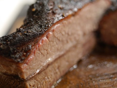 Beef Brisket vom Monolith