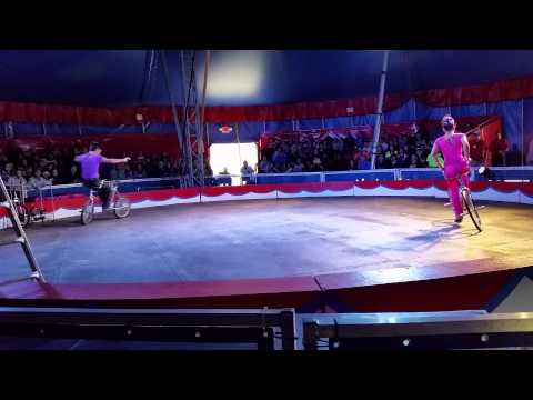 The opening of the Big top show at Circus world