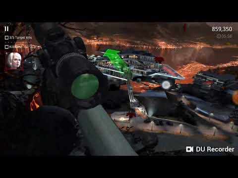 Playing hitman sniper NH Gaming